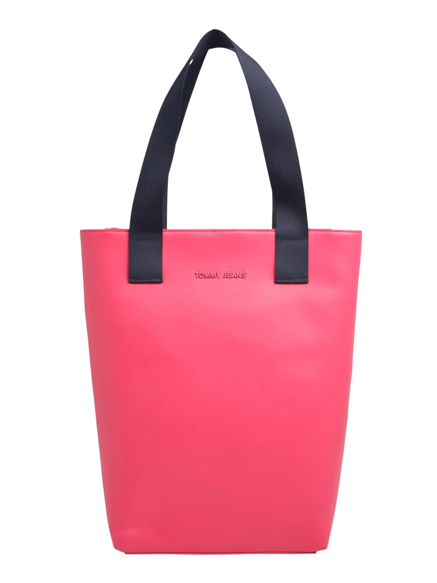 Nákupní taška TJW FEMME PU TOTE brusinková Tommy Jeans