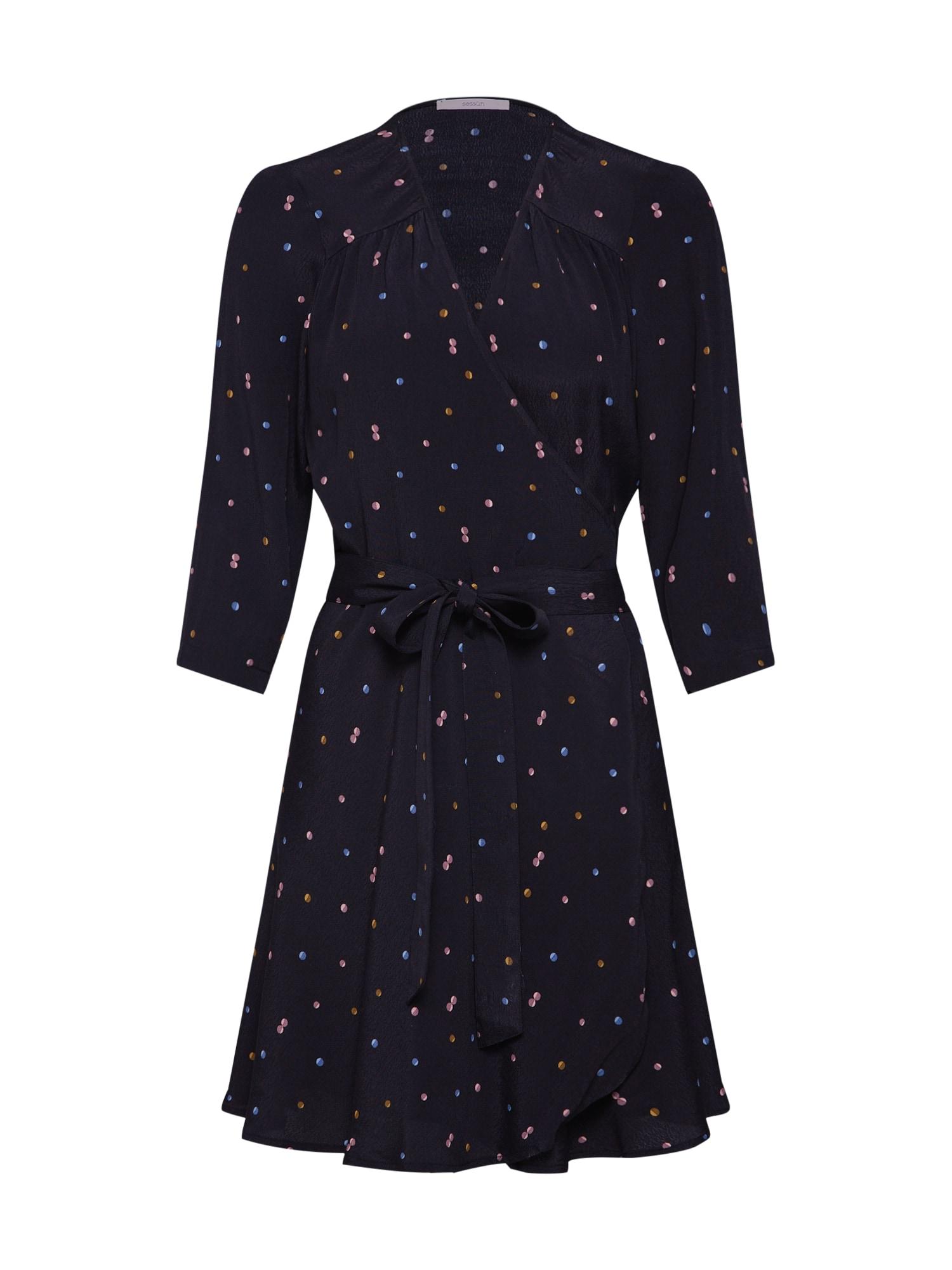 Šaty Kleid námořnická modř Sessun