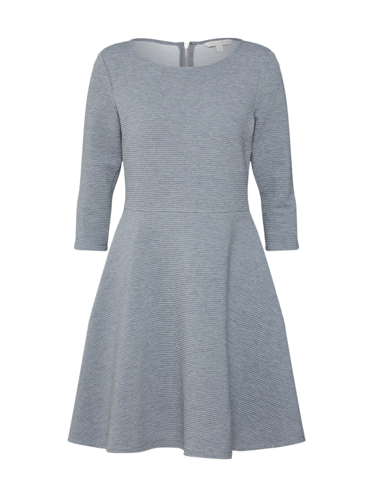 Šaty stříbrně šedá TOM TAILOR DENIM