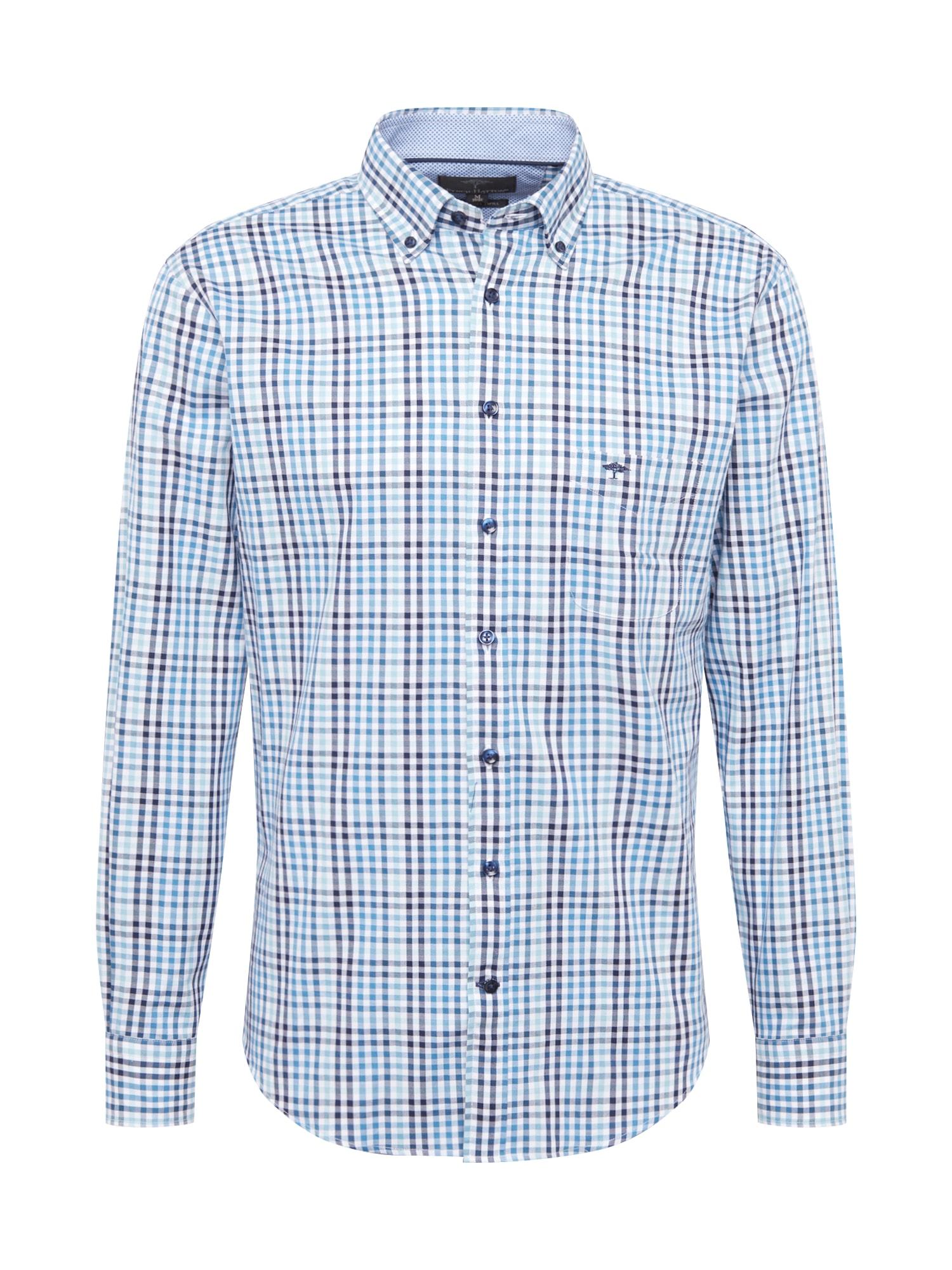 Košile námořnická modř zelená FYNCH-HATTON