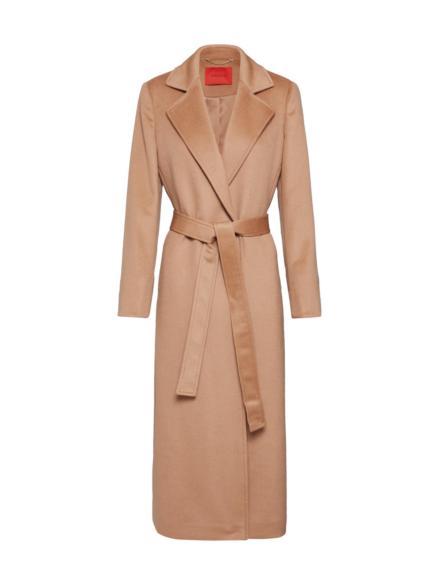 MAX&Co. Rudeninis-žieminis paltas smėlio / kupranugario