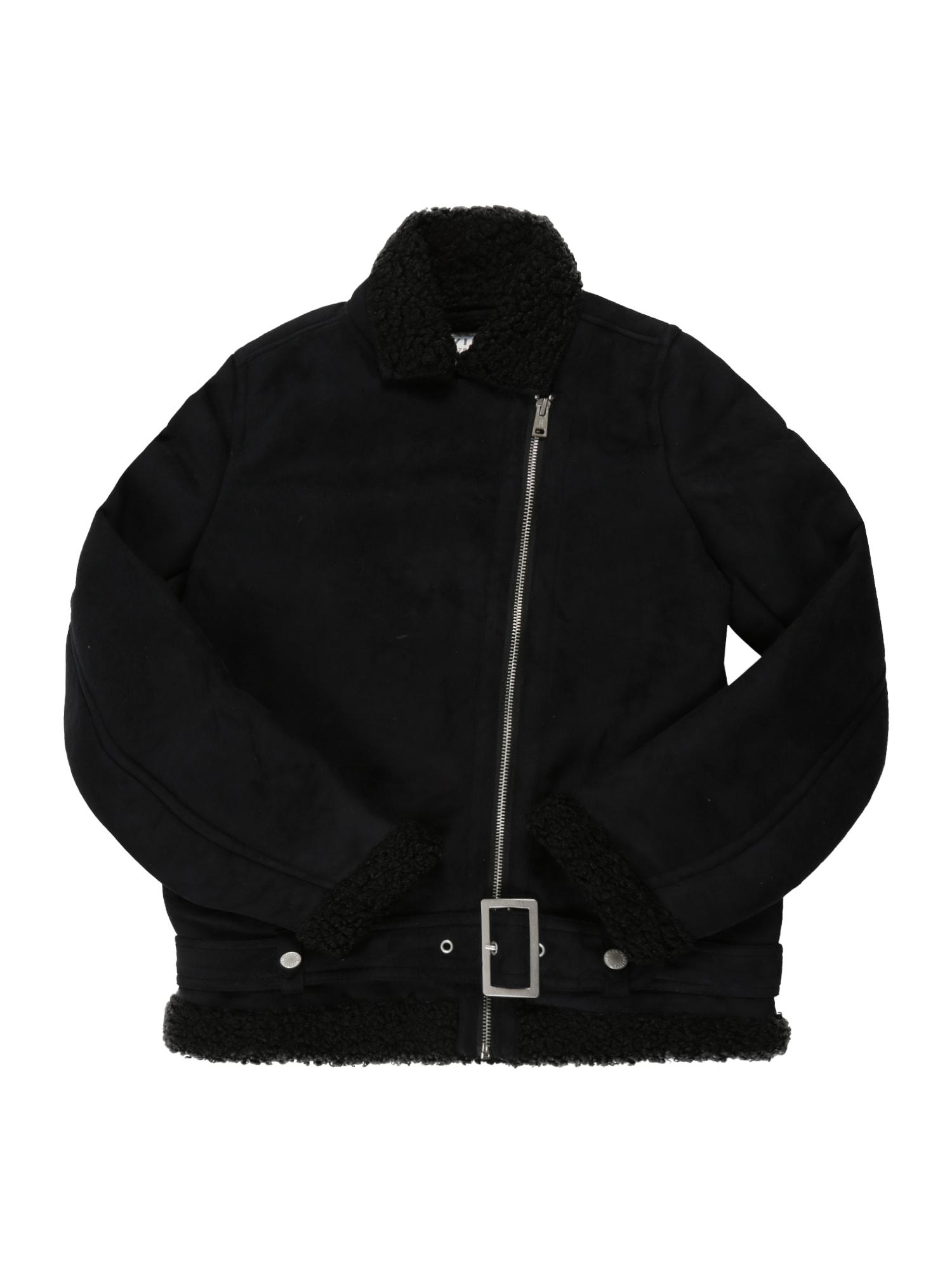 Zimní bunda černá REVIEW FOR TEENS