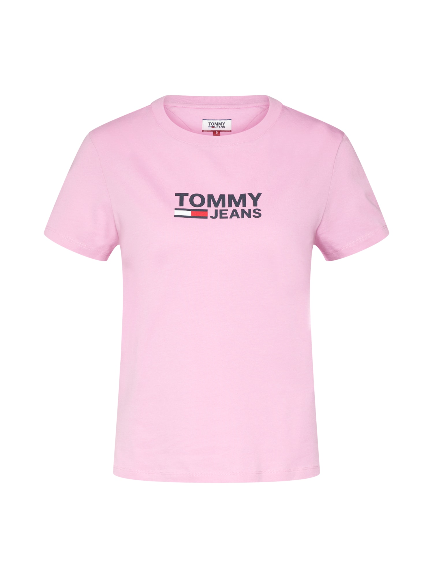 Tričko námořnická modř růžová Tommy Jeans