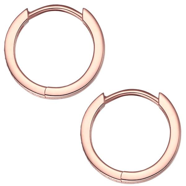 Ohrringe für Frauen - Rafaela Donata Creolen rosegold  - Onlineshop ABOUT YOU