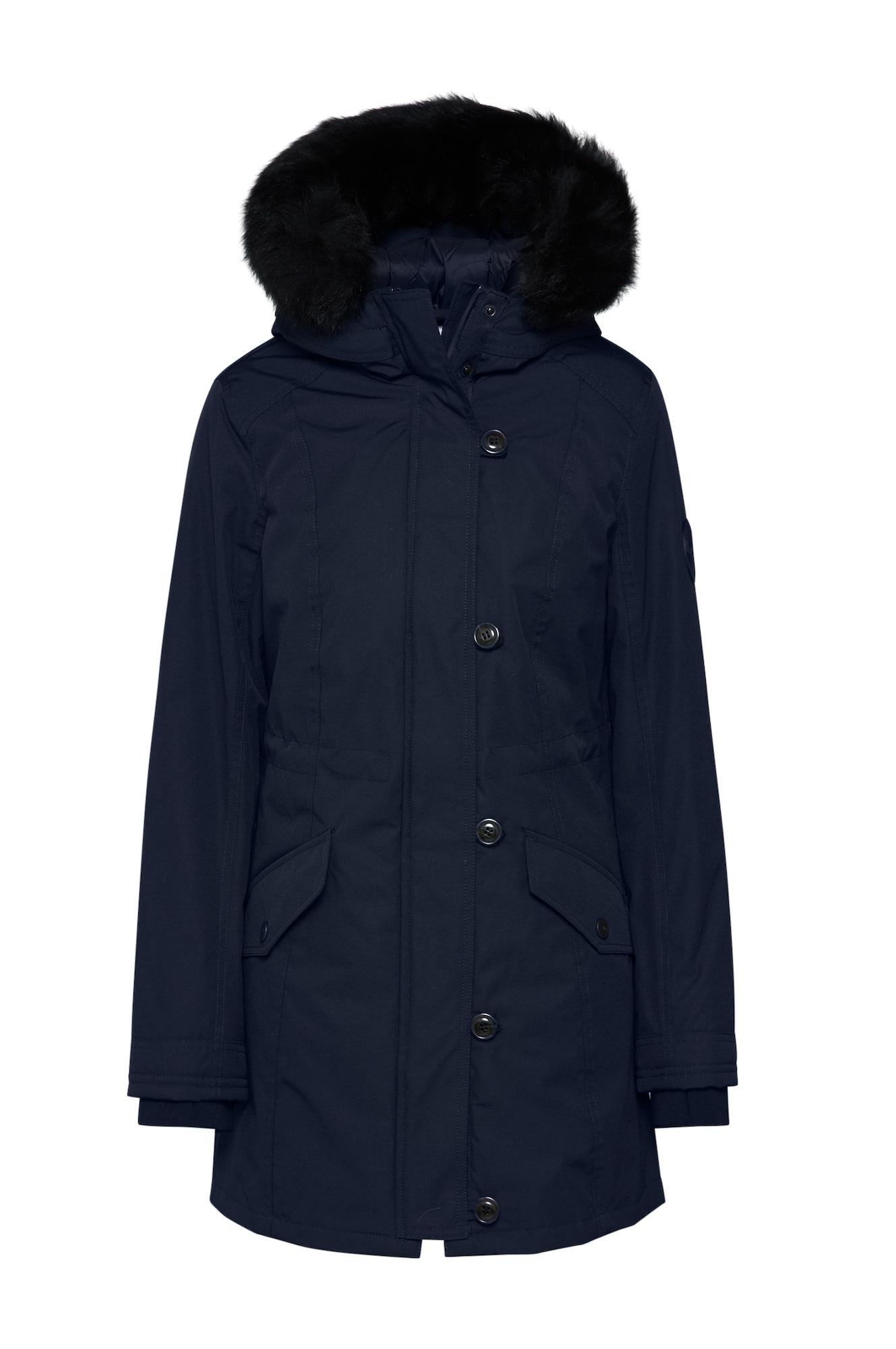 UGG Ilga žieminė striukė tamsiai mėlyna