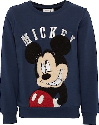 NAME IT Sweatshirt 'NITMICKEY JAXO SWE BRU M MINI'