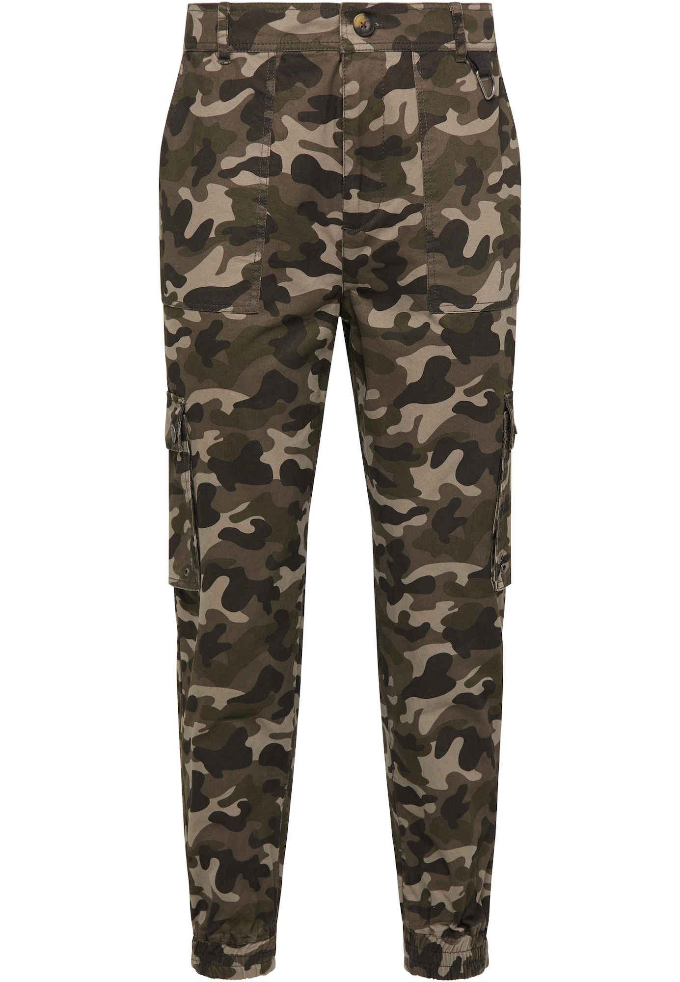 MO Laisvo stiliaus kelnės rusvai žalia / alyvuogių spalva / juoda / gelsvai pilka spalva