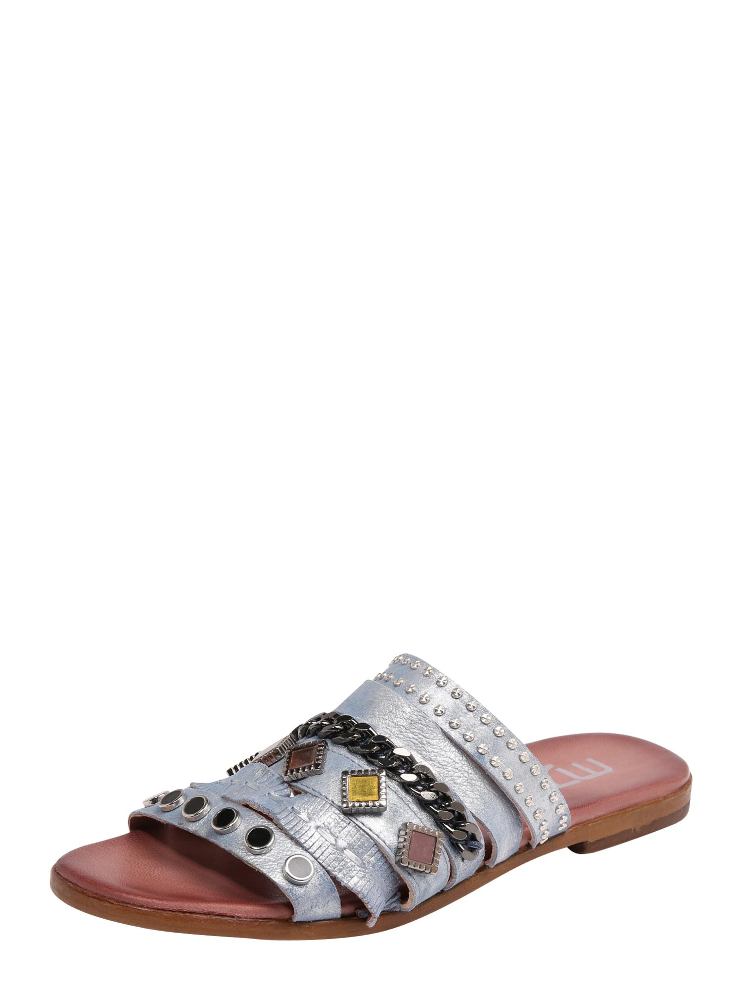 Sandály CHAT stříbrná MJUS