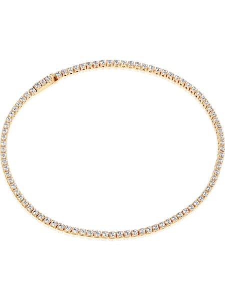 Armbaender für Frauen - Sif Jakobs Armband 'Ellera SJ B2869 CZ(YG) 18' gold weiß  - Onlineshop ABOUT YOU