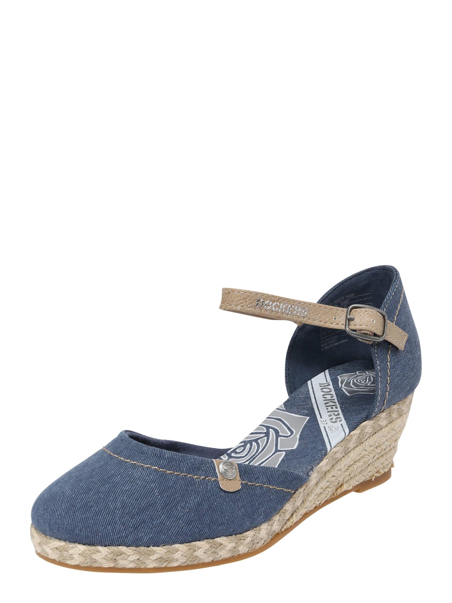 Sandály námořnická modř Dockers By Gerli