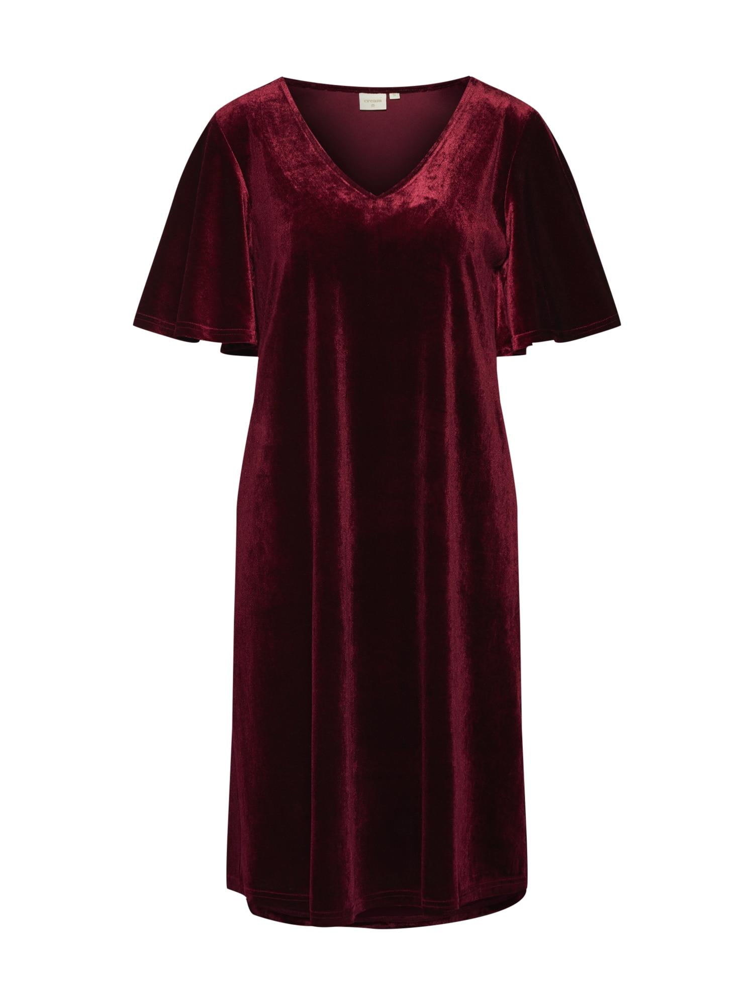 Maxi šaty Aleixo bordó Cream