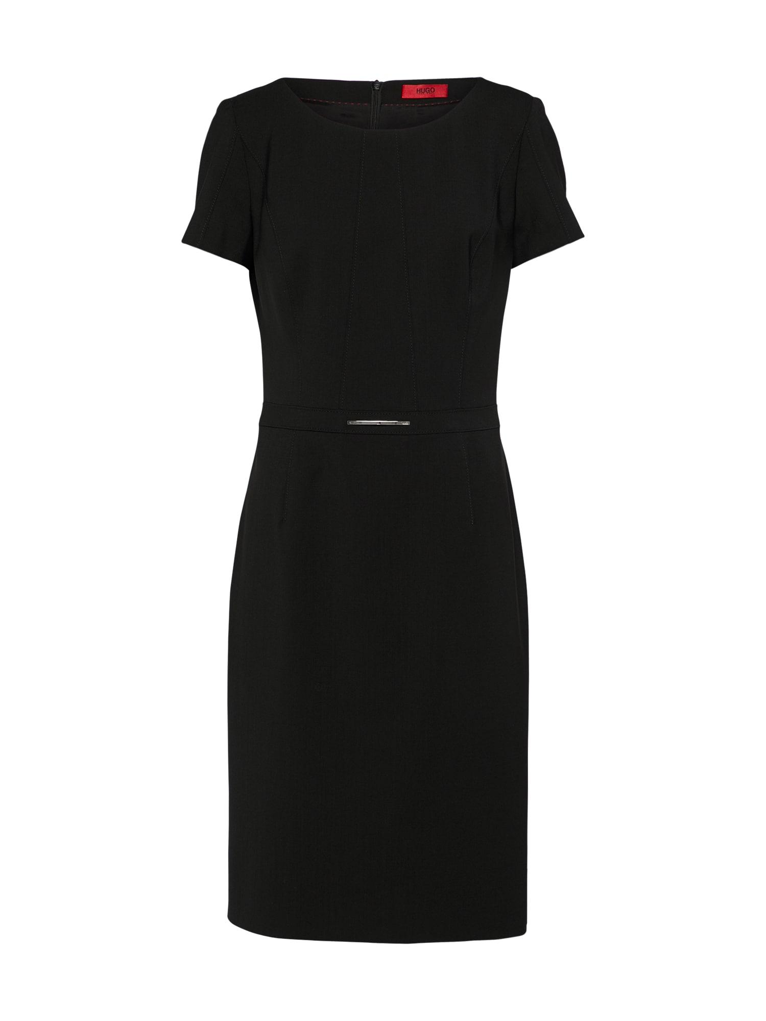 Pouzdrové šaty Karien černá HUGO