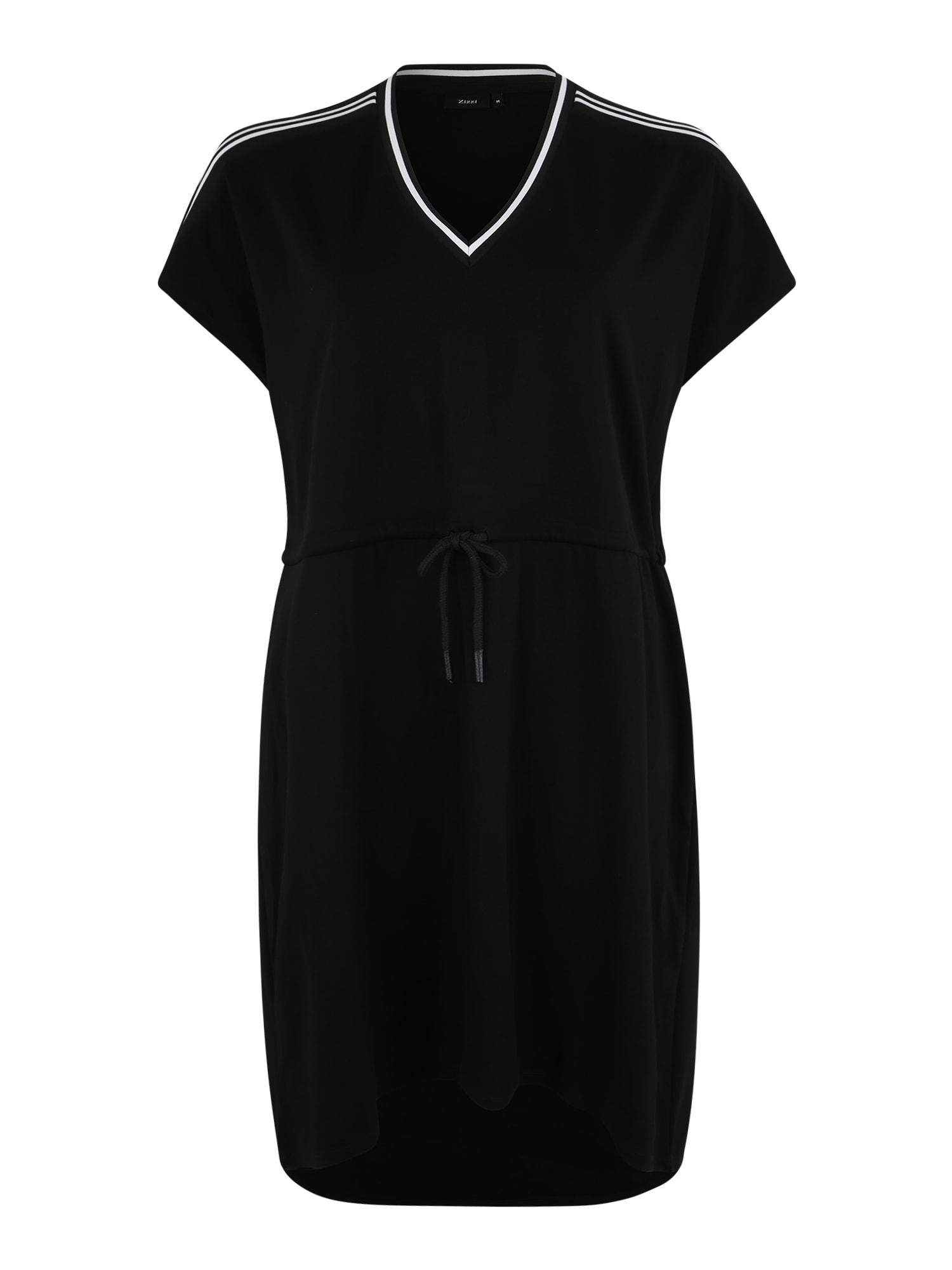 Šaty SKYLAR černá Zizzi
