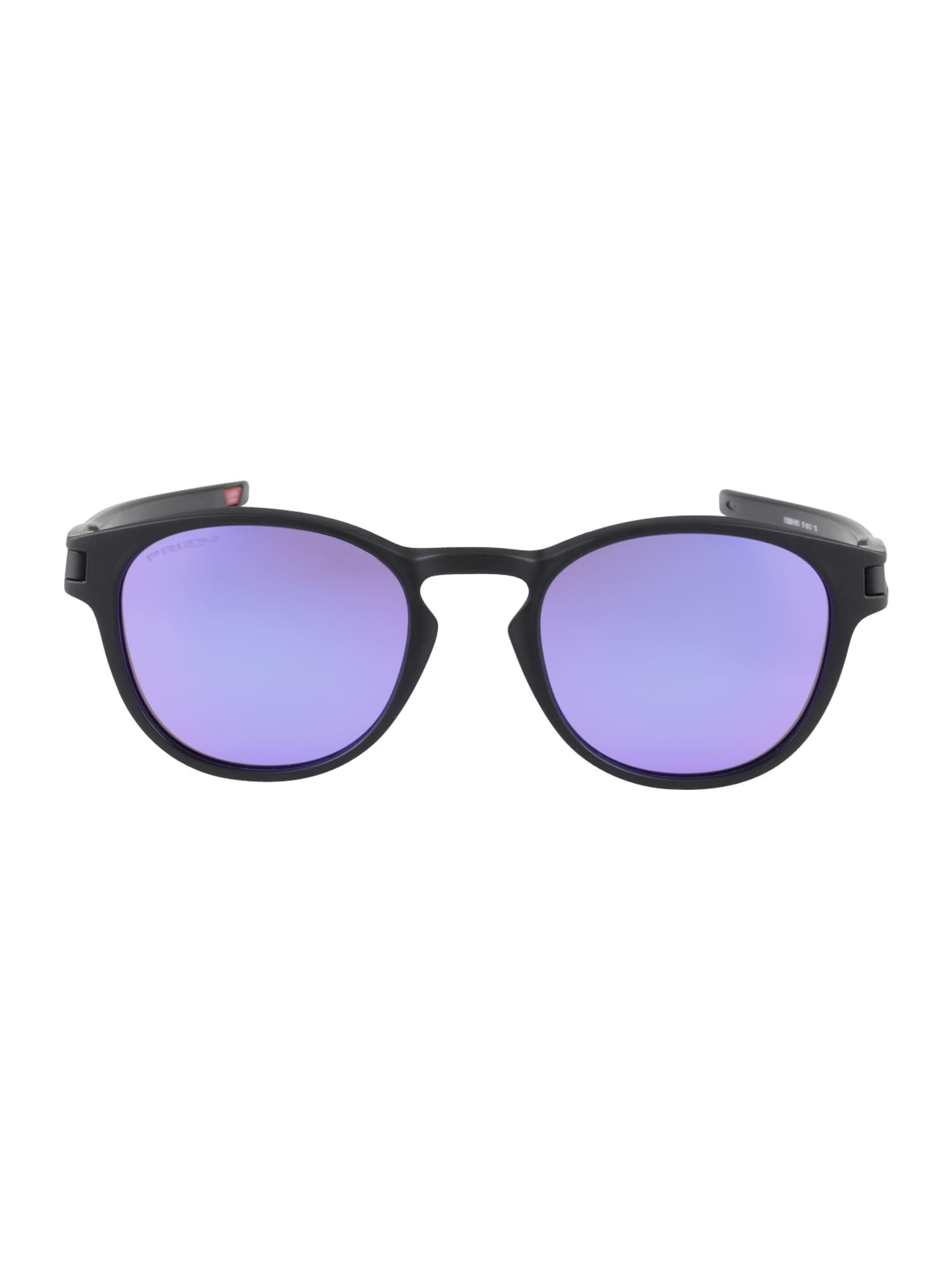 OAKLEY Akiniai nuo saulės 'Latch' purpurinė / juoda