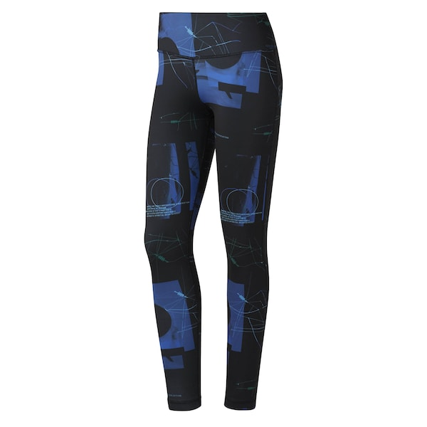 Hosen für Frauen - Leggings ' Workout Ready Tight ' › Reebok › navy schwarz  - Onlineshop ABOUT YOU