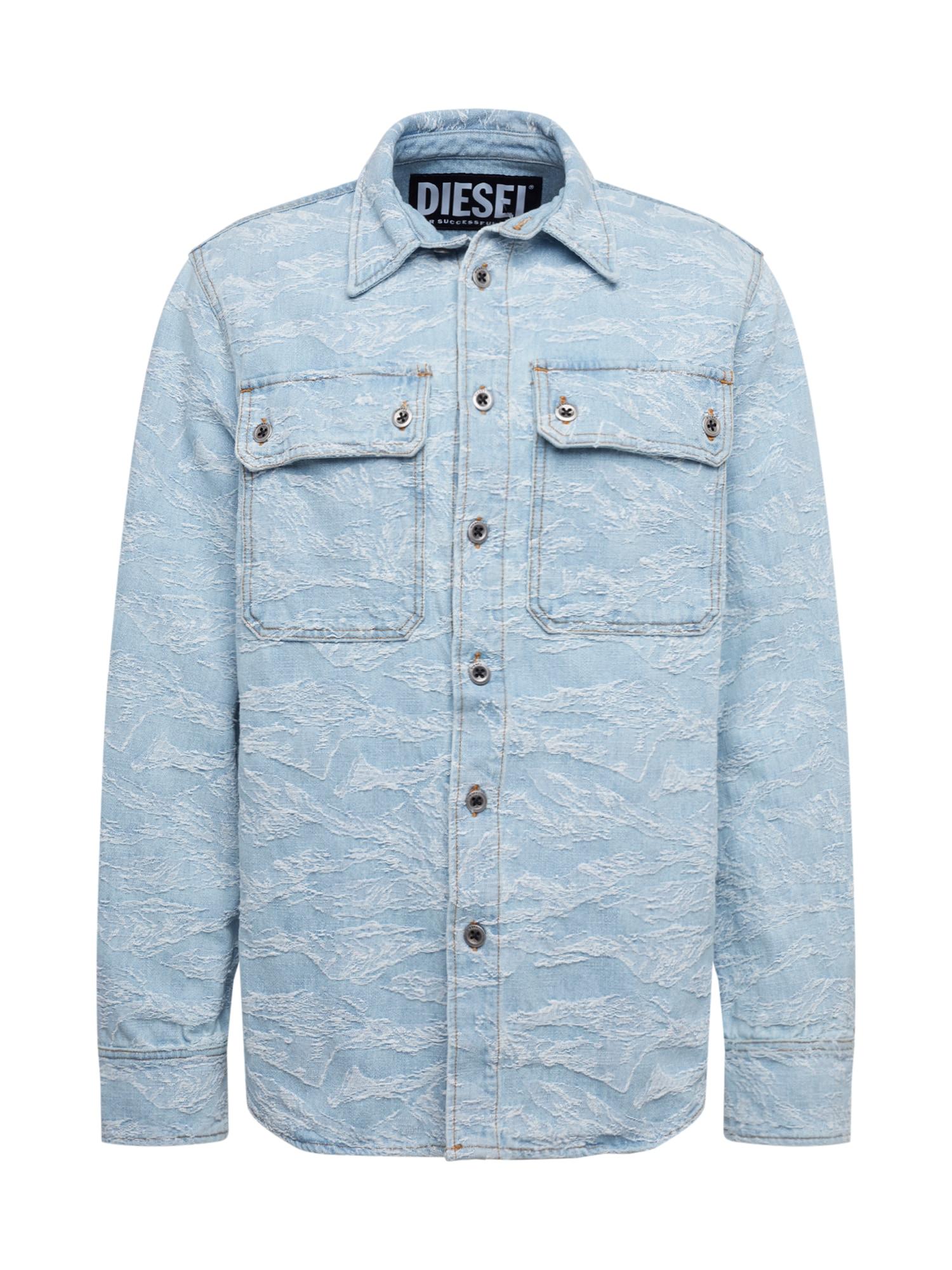 DIESEL Dalykiniai marškiniai 'JESSY' balta / tamsiai (džinso) mėlyna