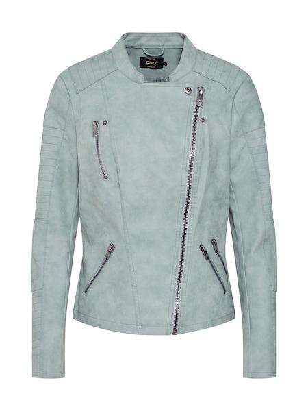 Jacken für Frauen - ONLY Bikerjacke 'Ava' mint  - Onlineshop ABOUT YOU