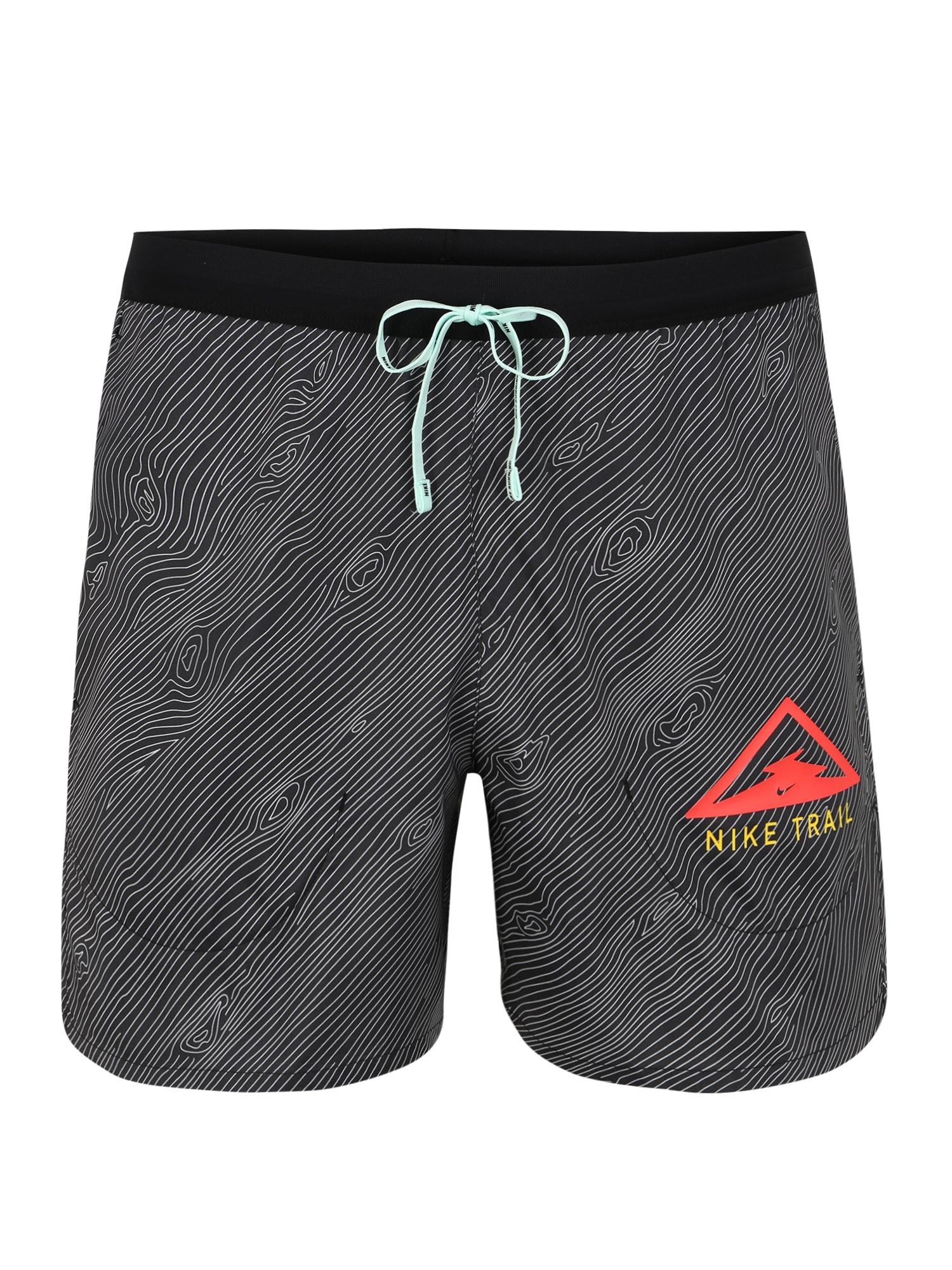NIKE Sportinės kelnės 'Flex Stride' tamsiai pilka