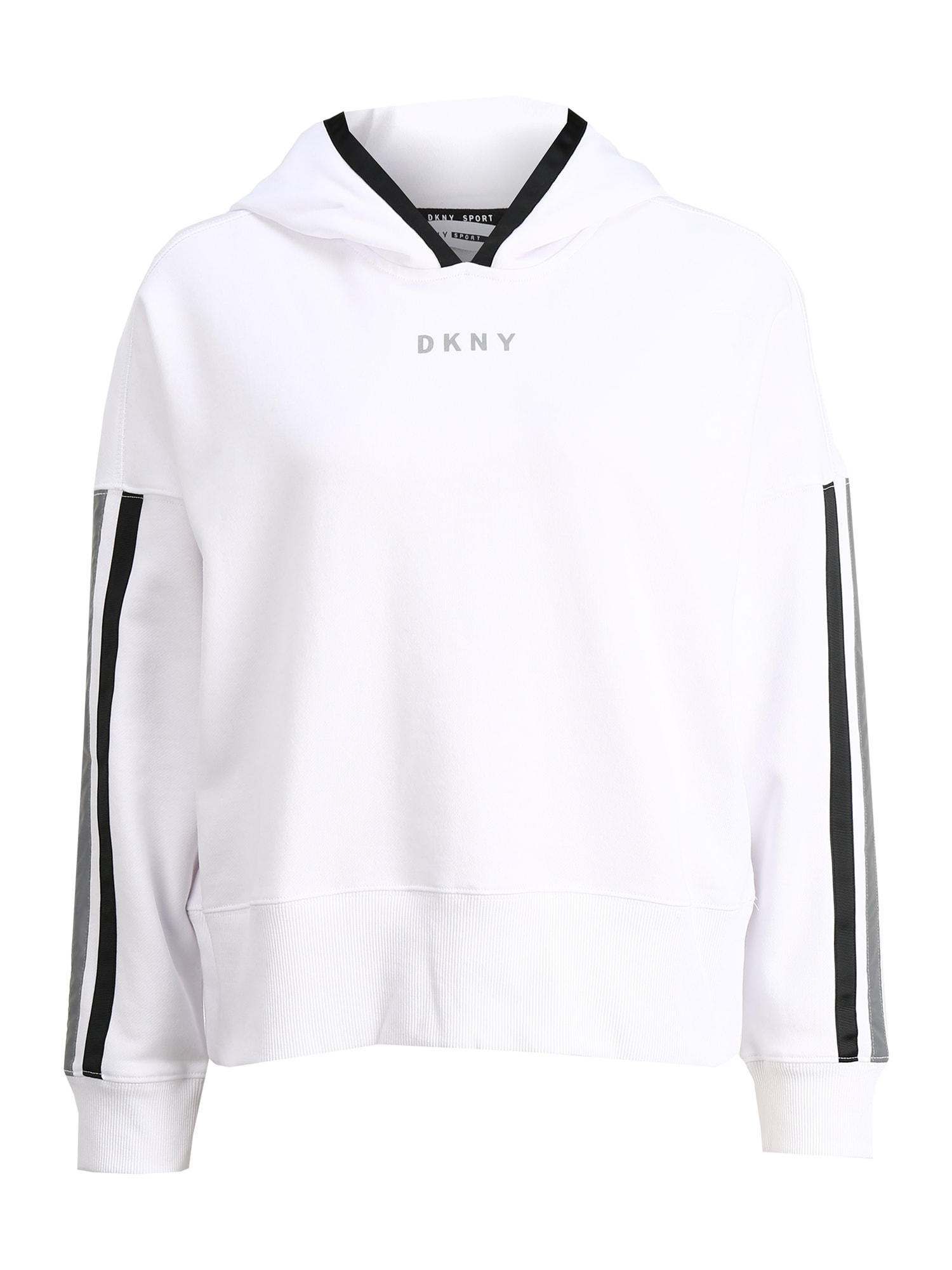 DKNY Sport Sportinio tipo megztinis juoda / balta