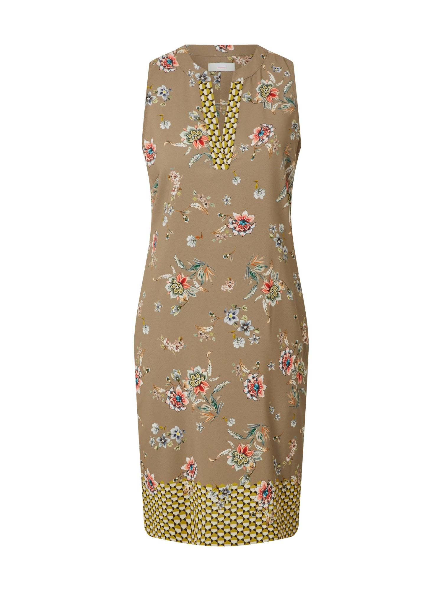 CINQUE Suknelė 'EARL' mišrios spalvos / smėlio