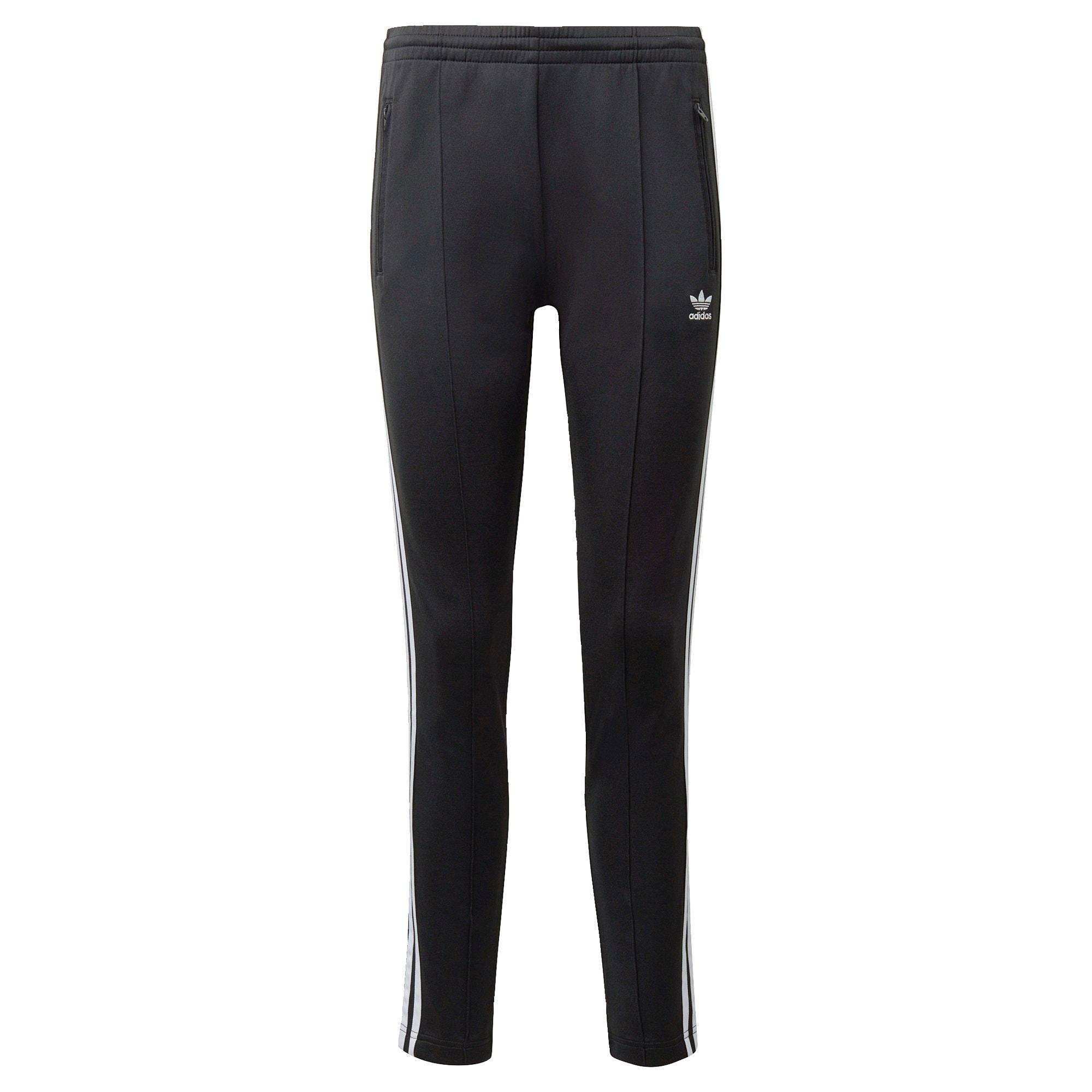 ADIDAS ORIGINALS Sportinės kelnės balta / juoda