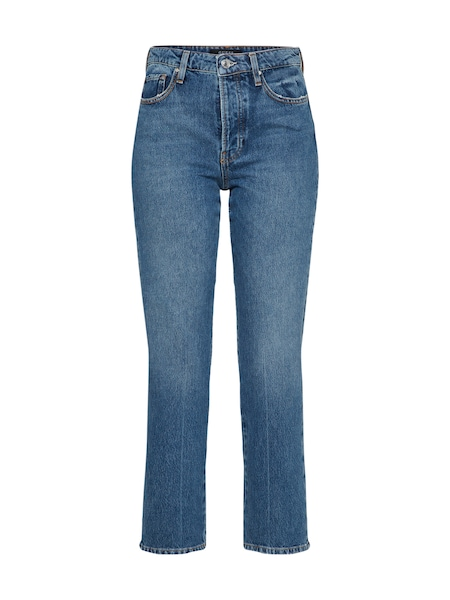 Hosen für Frauen - GUESS Jeans 'THE IT GIRL' blue denim  - Onlineshop ABOUT YOU