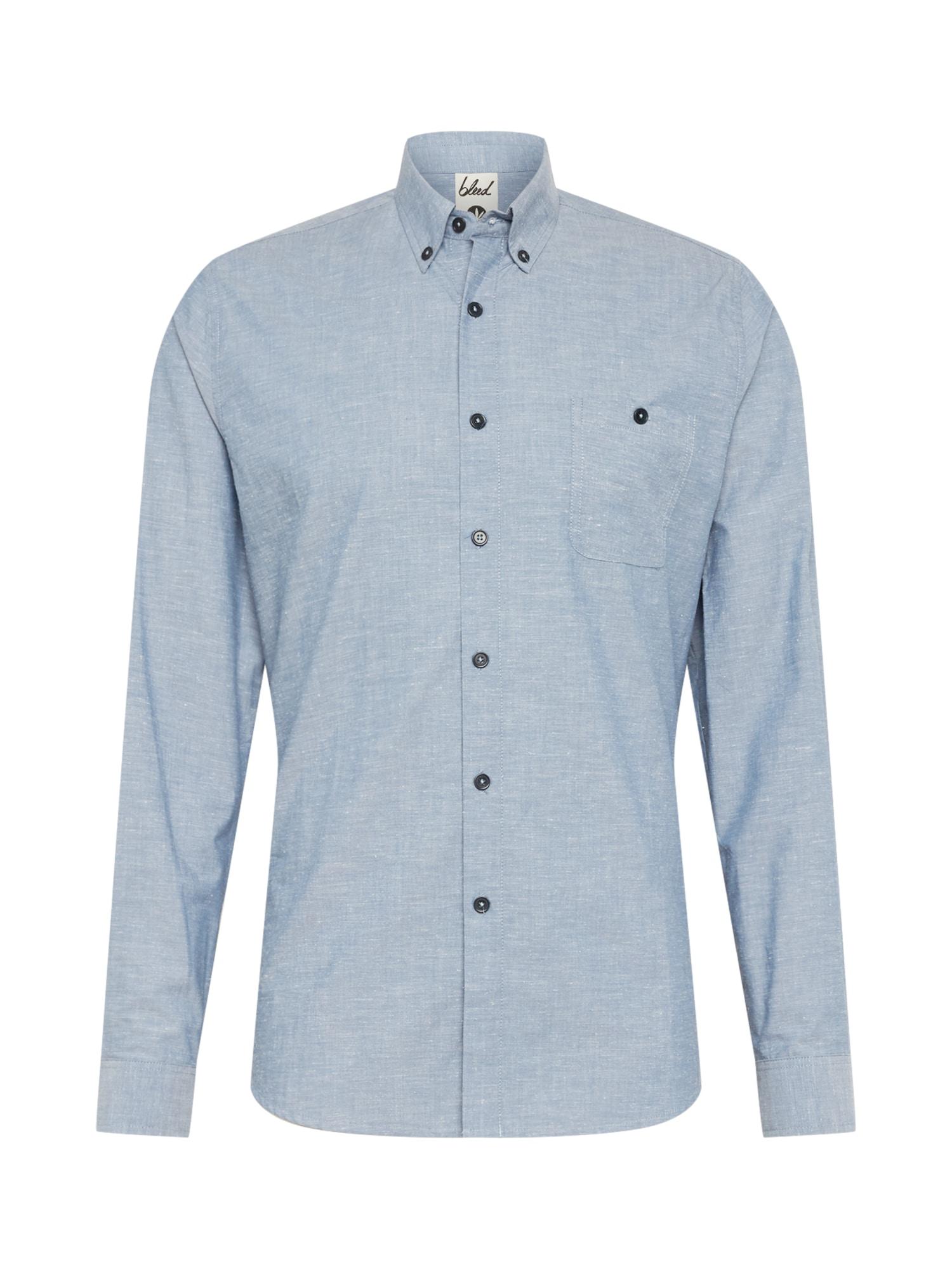 bleed clothing Dalykiniai marškiniai '365 Oxford Shirt' šviesiai mėlyna