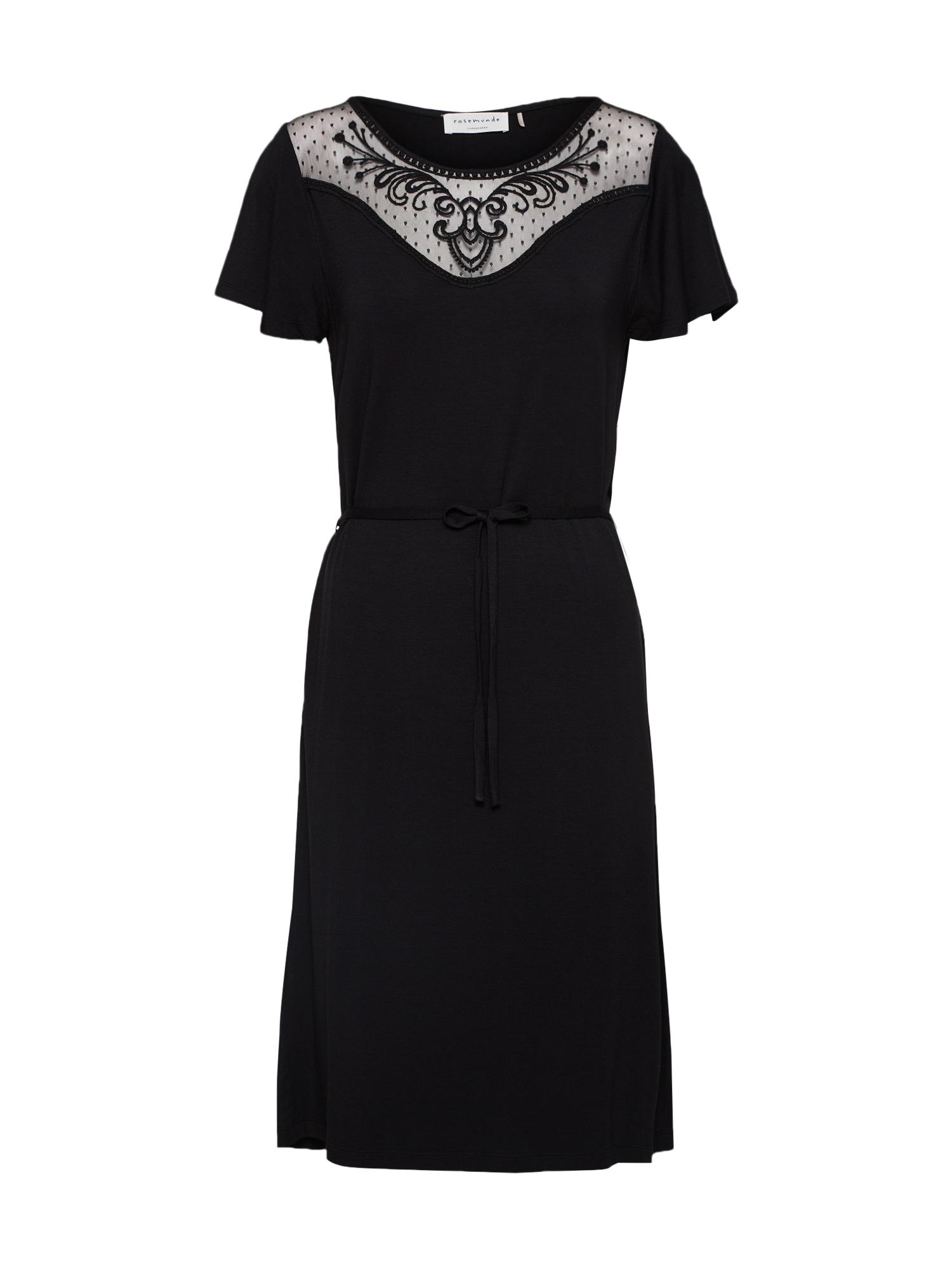 Šaty černá Rosemunde