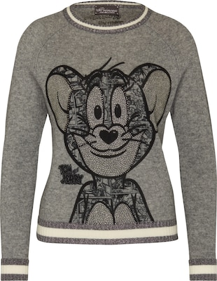 PRINCESS GOES HOLLYWOOD Pullover mit Kaschmir 'Jerry Smile'