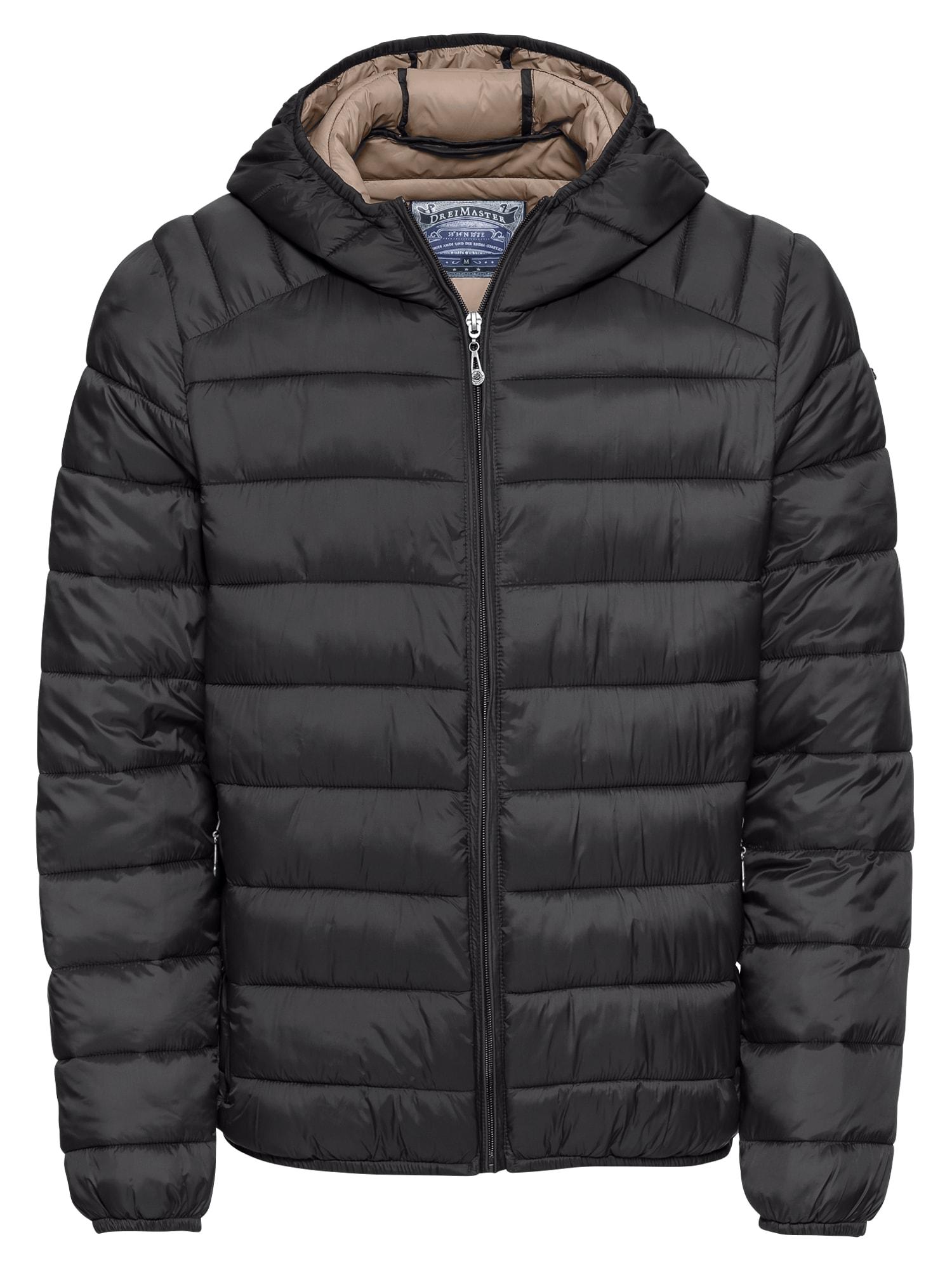Zimní bunda černá DREIMASTER