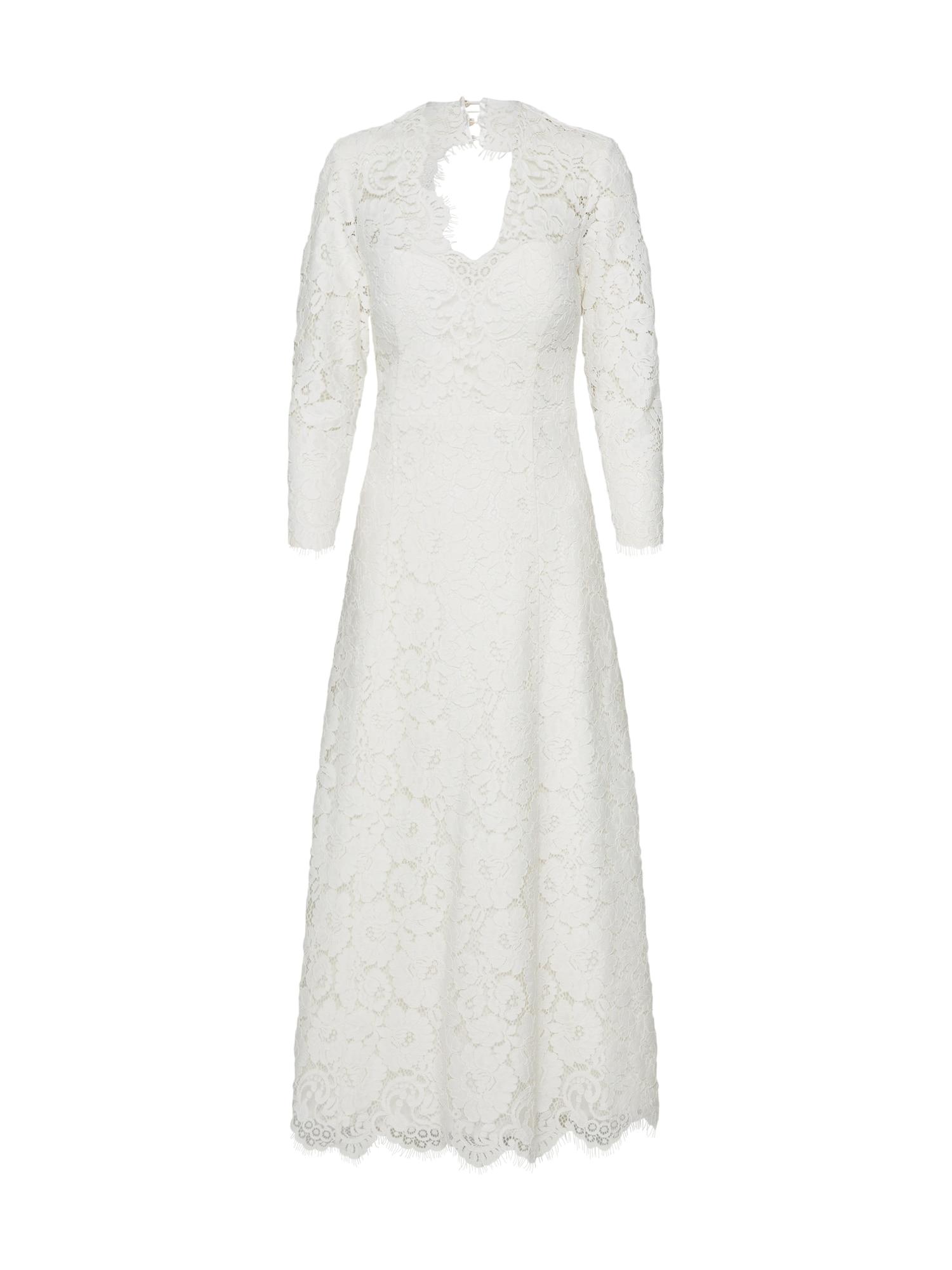 IVY & OAK Kokteilinė suknelė vilnos balta