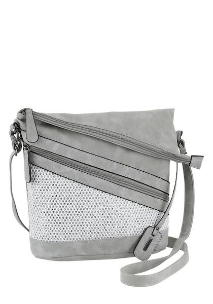 Schultertaschen für Frauen - RIEKER Umhängetasche grau weiß  - Onlineshop ABOUT YOU
