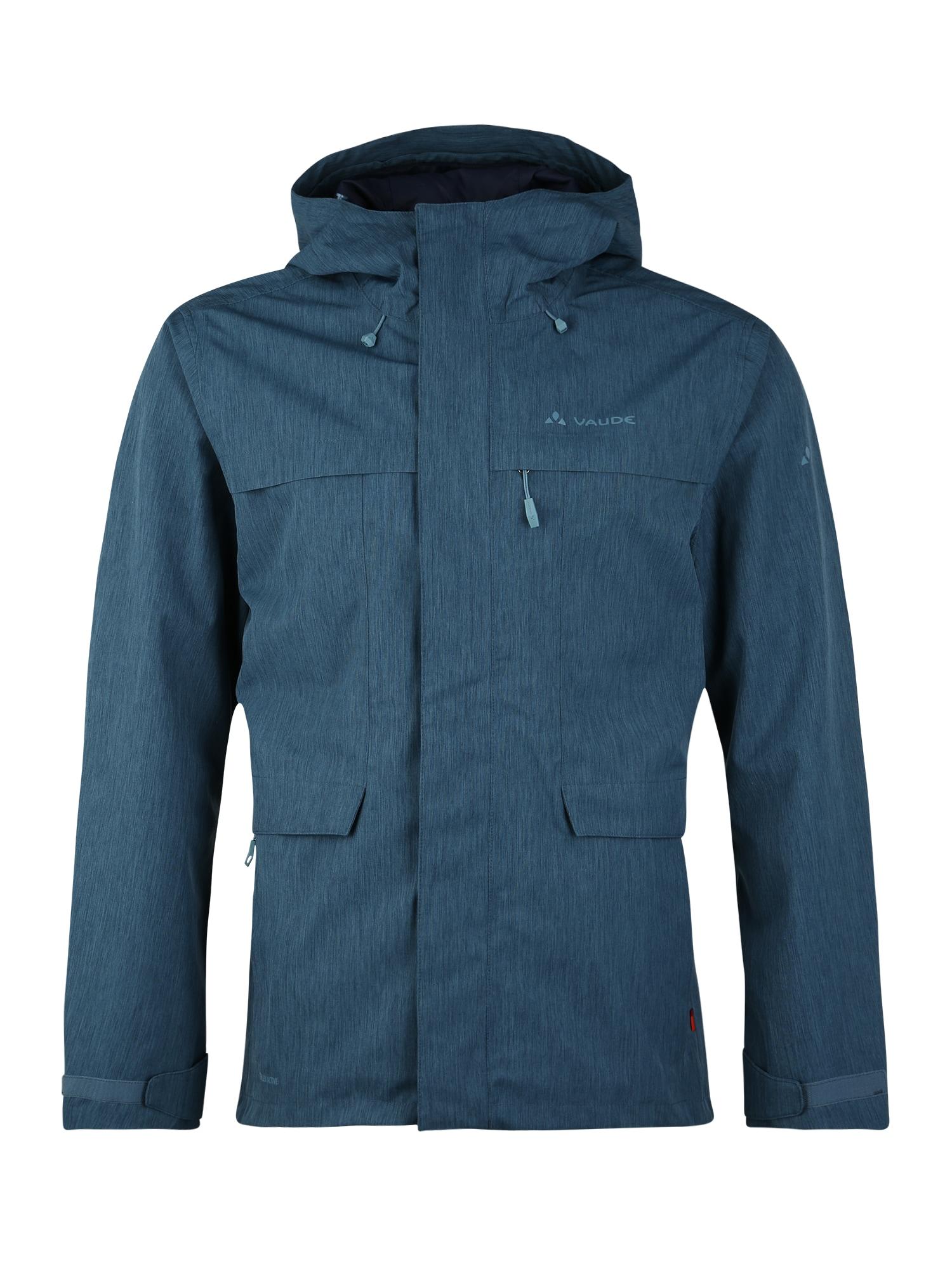 VAUDE Sportinė striukė 'Rosemoor' mėlyna
