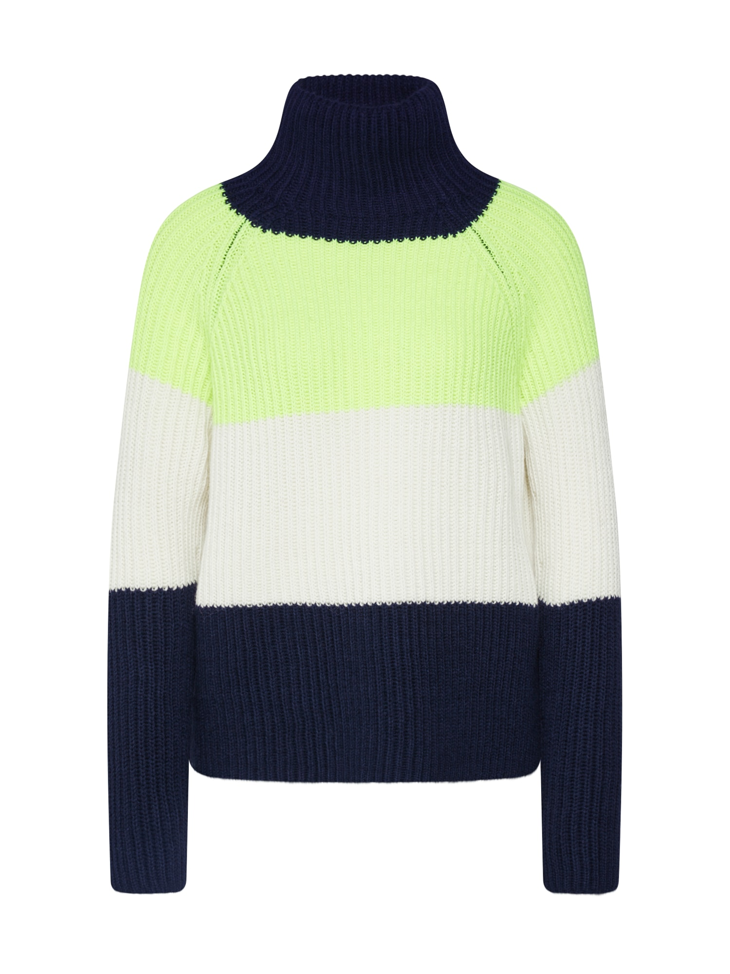 DRYKORN Megztinis 'ARWEN' mėlyna / geltona / balta
