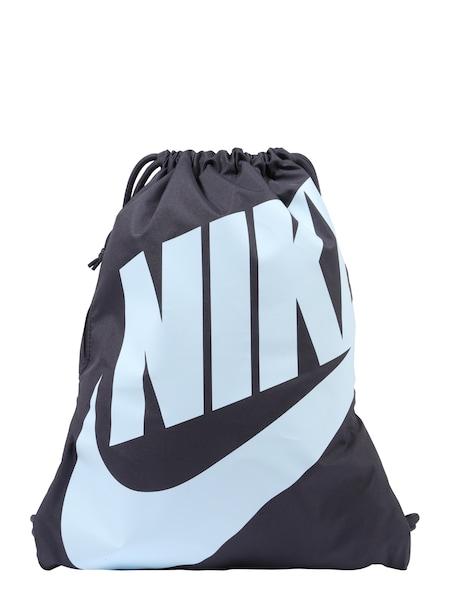 Sporttaschen für Frauen - Nike Sportswear Turnbeutel 'Heritage' hellblau dunkelblau  - Onlineshop ABOUT YOU