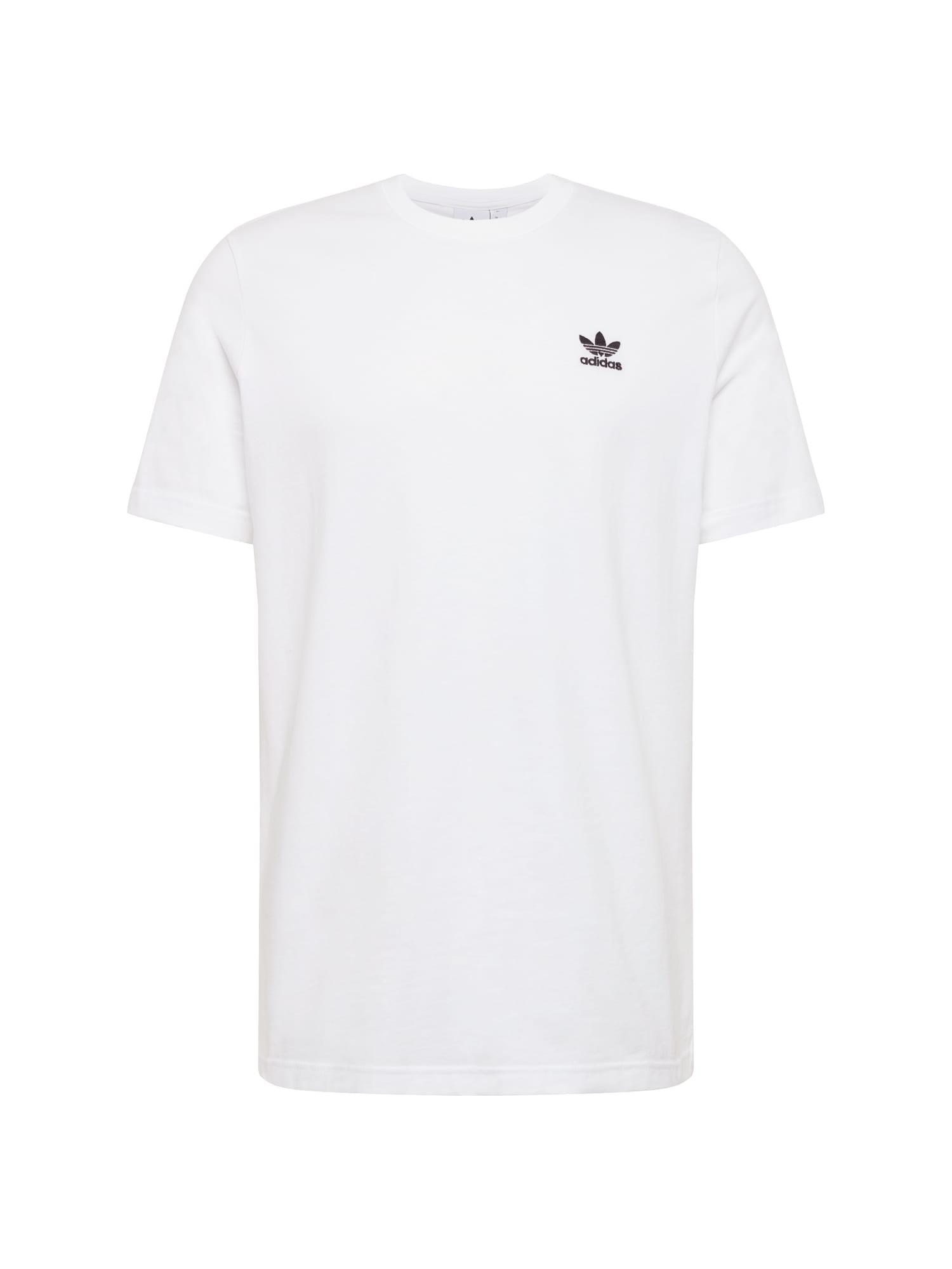 ADIDAS ORIGINALS Tričko 'Essential'  bílá / černá