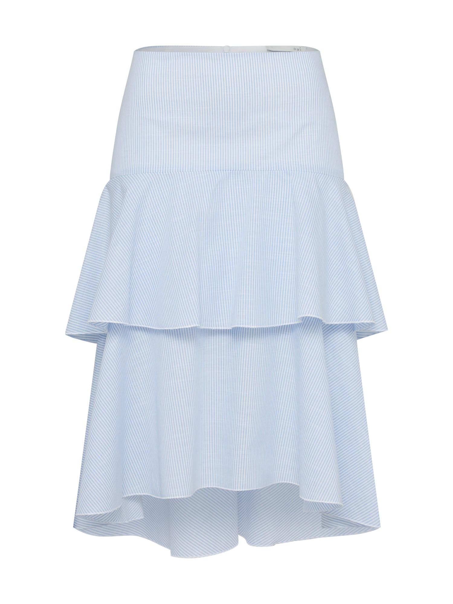 Sukně modrá bílá OUI