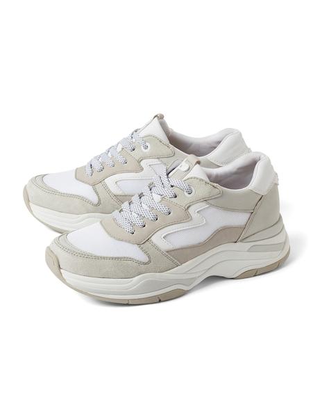 Sneakers für Frauen - TOM TAILOR DENIM Sneaker beige grau  - Onlineshop ABOUT YOU