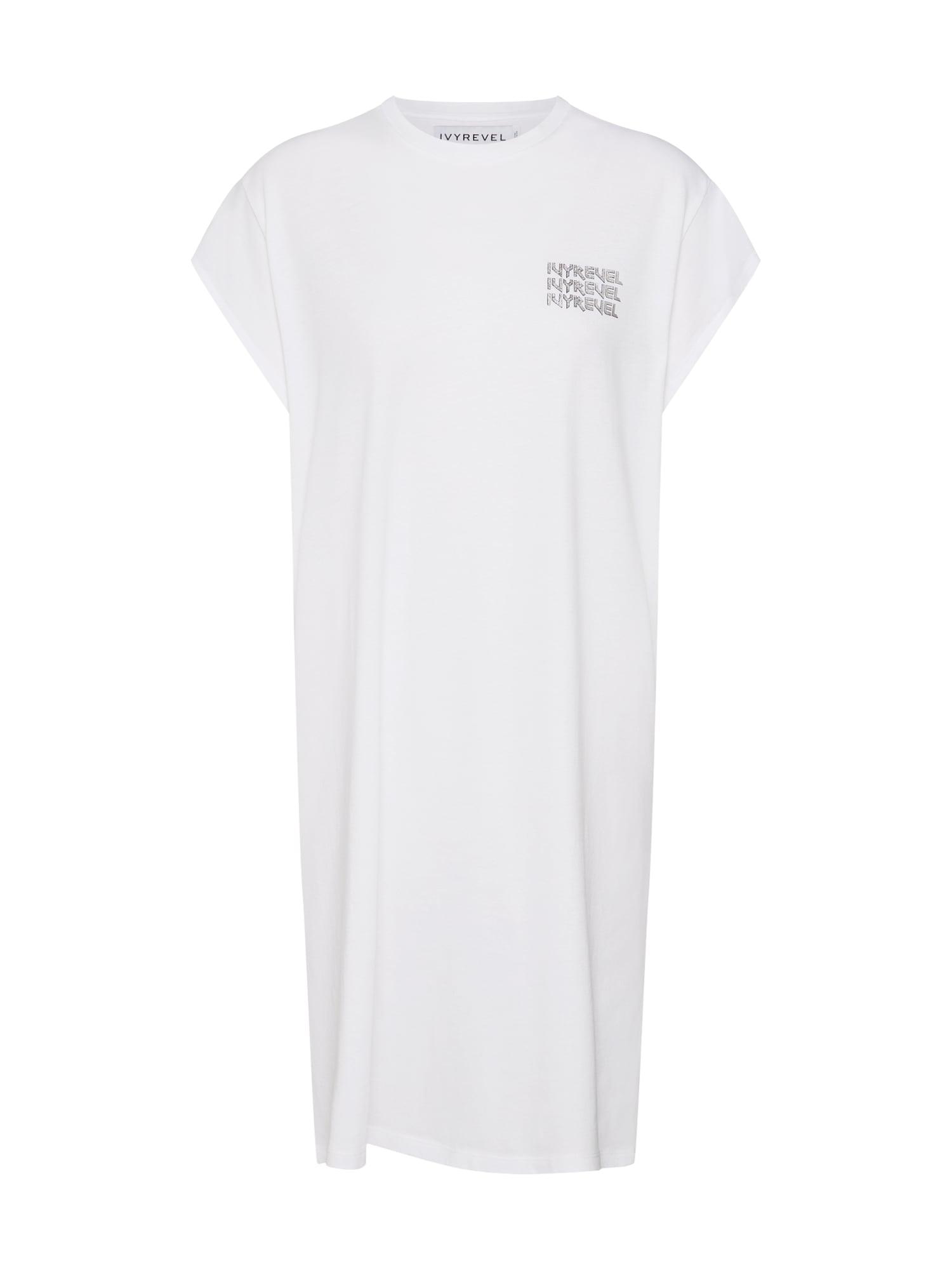 Šaty černá bílá IVYREVEL