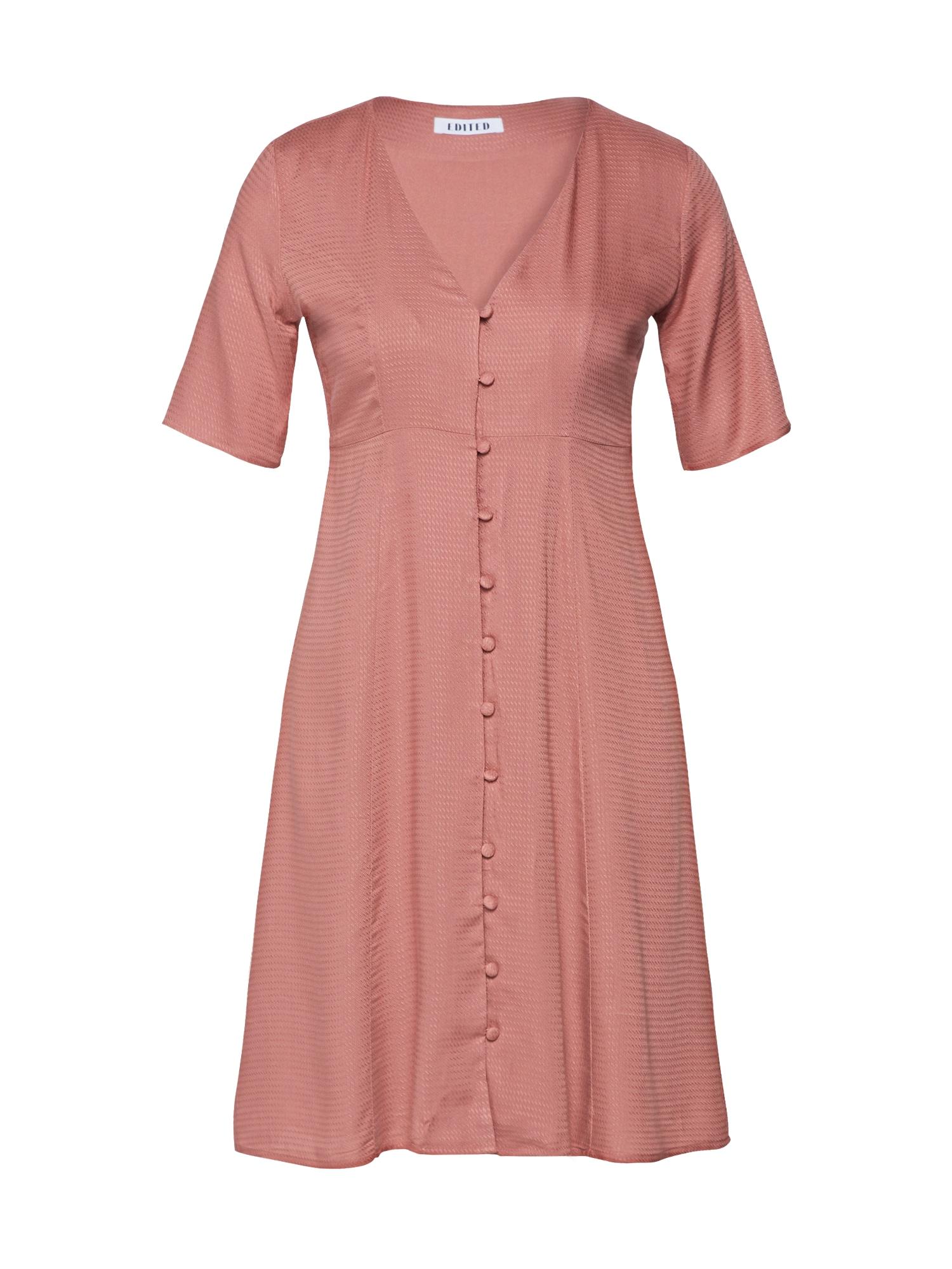 Košilové šaty Neela pink EDITED