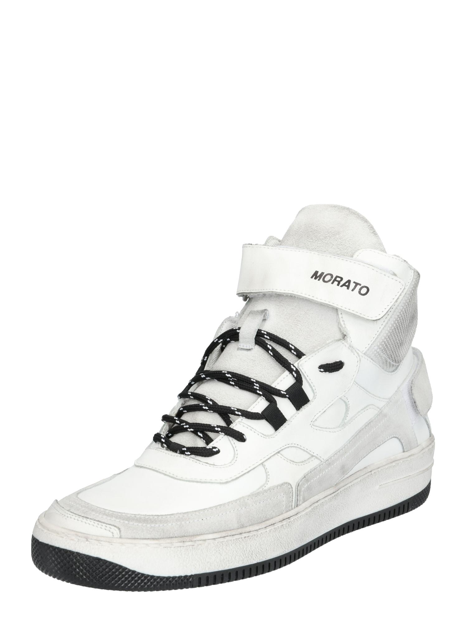 ANTONY MORATO Sneaker low 'Stroke'  gri / alb