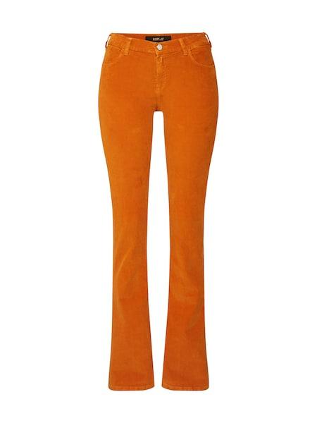 Hosen für Frauen - REPLAY Jeans 'STELLA FLARE' orange  - Onlineshop ABOUT YOU