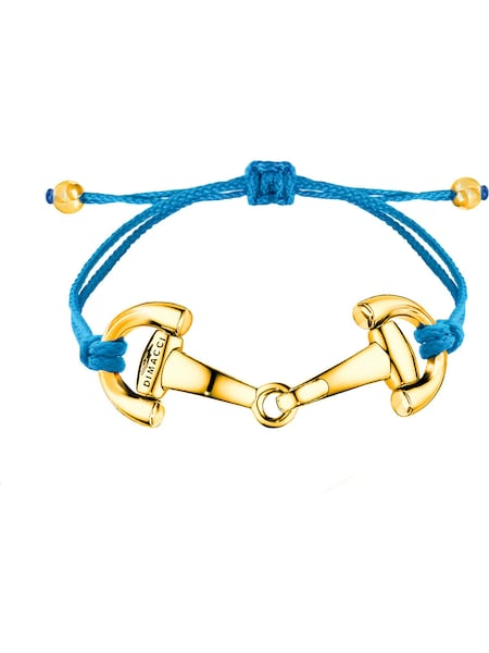 Armbaender - Armband 'Pony' › Dimacci › blau gold  - Onlineshop ABOUT YOU