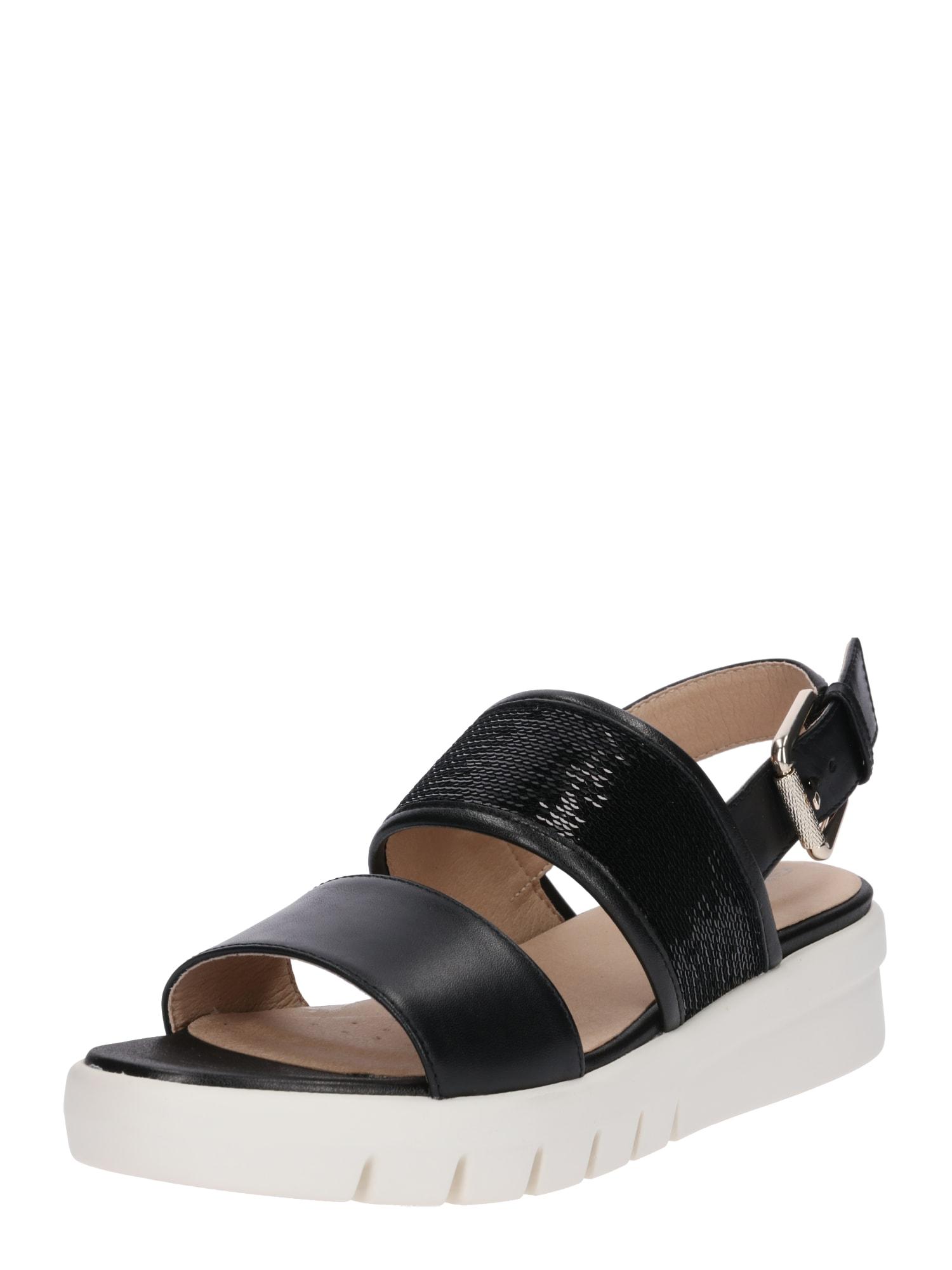 Sandály WIMBLEY černá GEOX