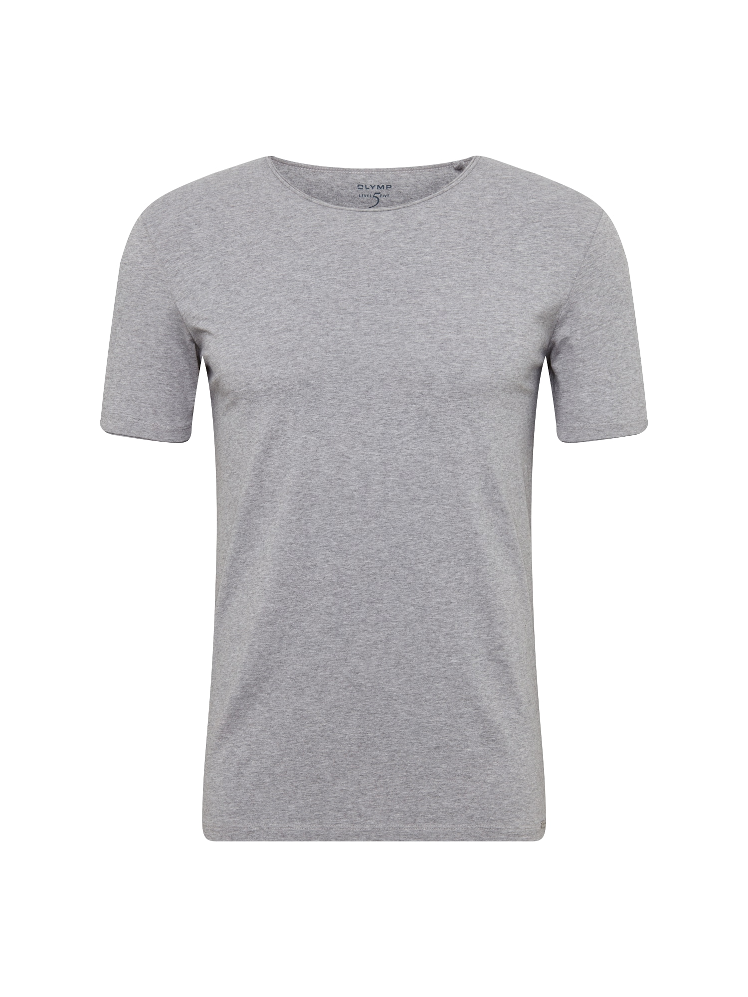 Tričko stříbrně šedá OLYMP