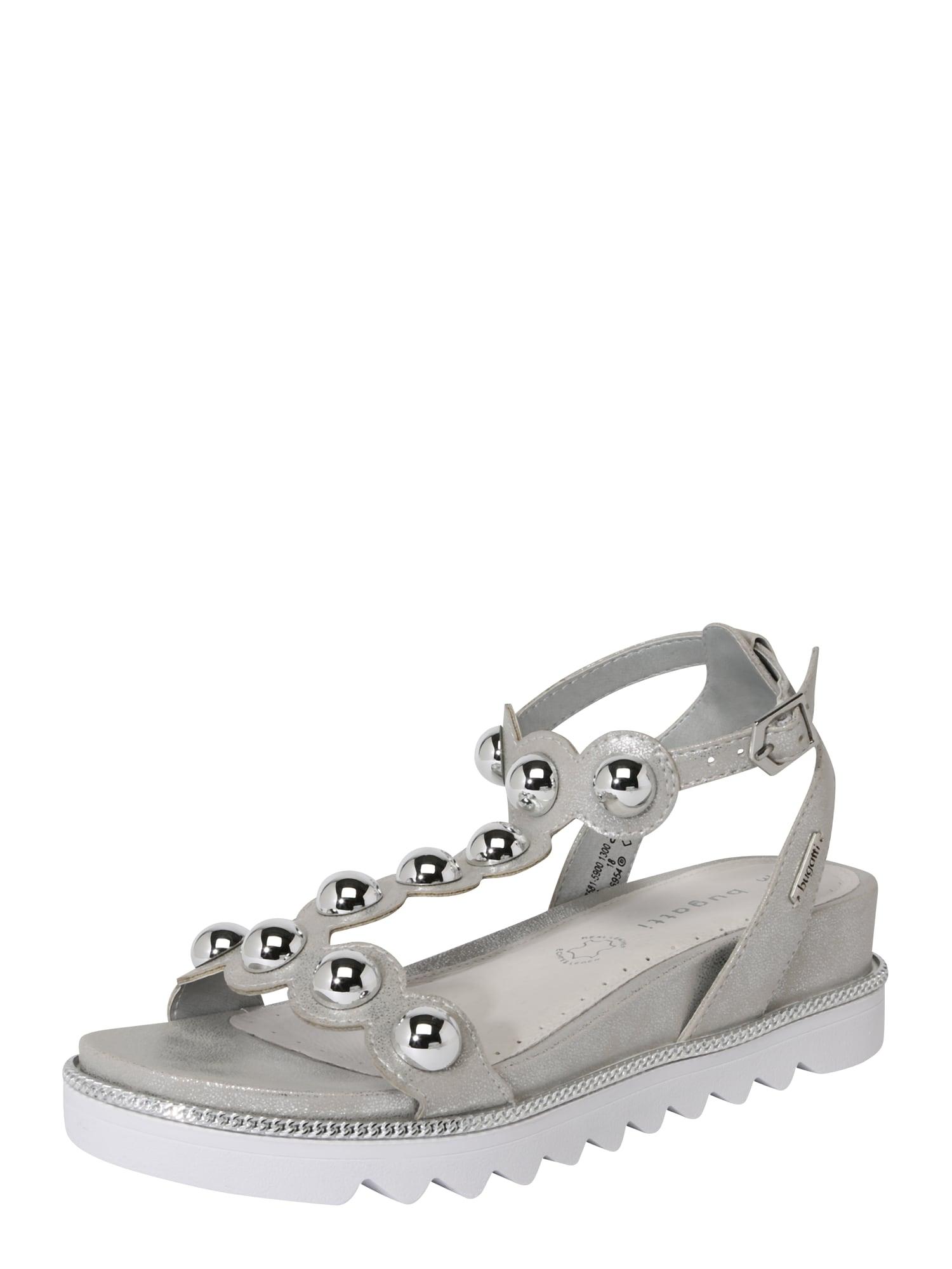 Sandály Hope stříbrná Bugatti