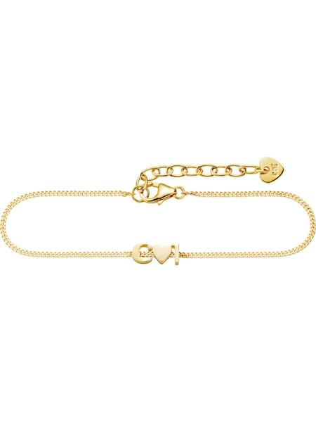Armbaender - Armband 'Love' › Caï › gold  - Onlineshop ABOUT YOU