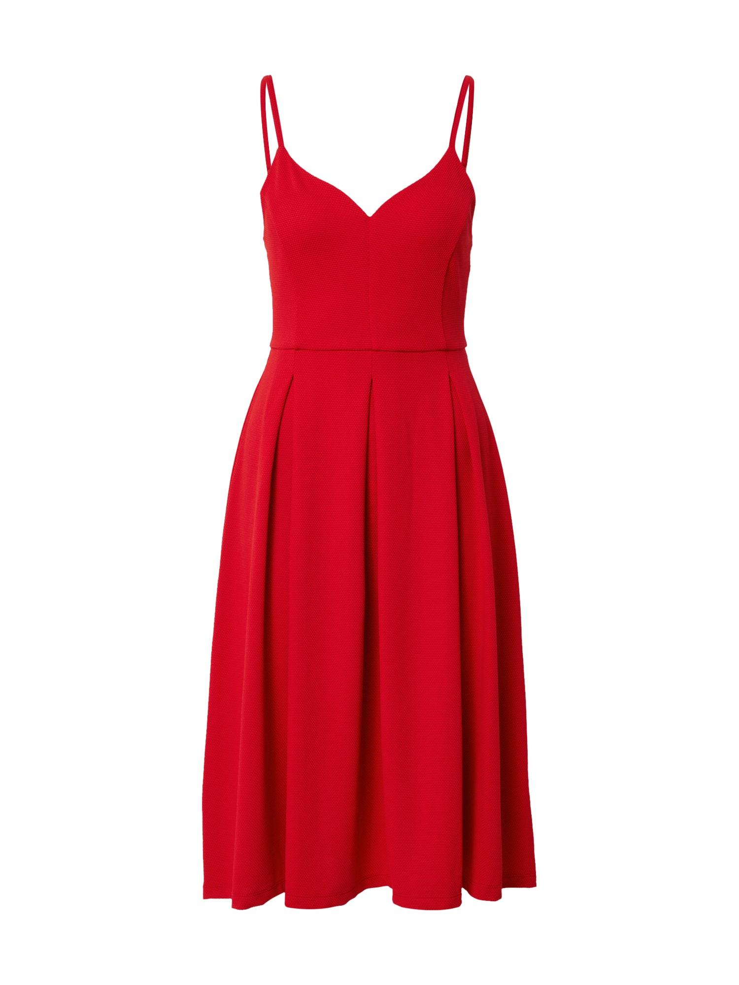 ABOUT YOU Kokteilinė suknelė 'Cosima' raudona