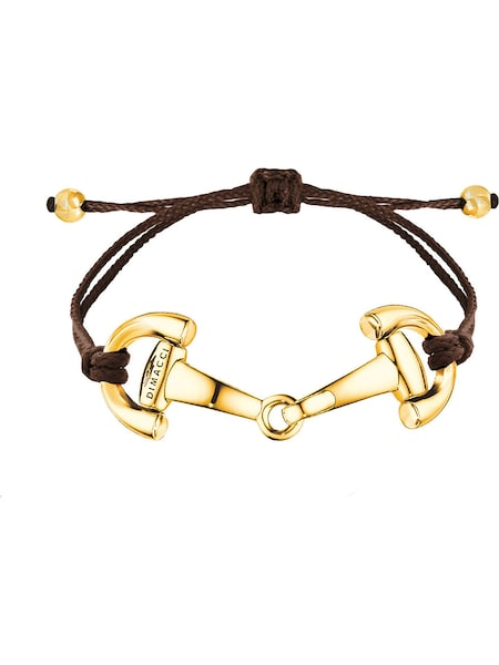 Armbaender - Armband 'Pony' › Dimacci › dunkelbraun gold  - Onlineshop ABOUT YOU