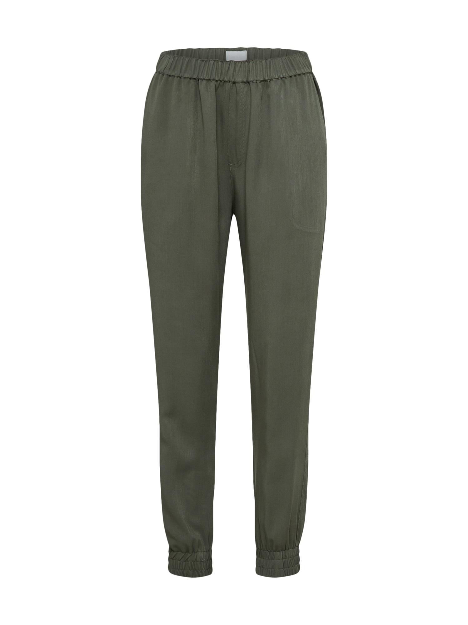 Kalhoty Civic olivová Iriedaily